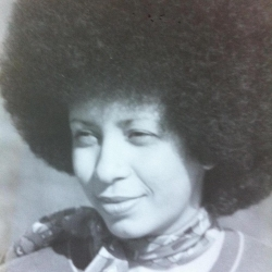 """The author's mother, Agatha """"Aggie"""" Briscoe, in 1976."""