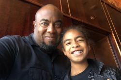 Shawn Taylor and his daughter.